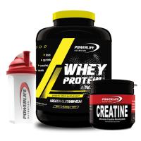 Powerlife Whey Protein 2025 Gr + Creatine 200 Gr + Shaker