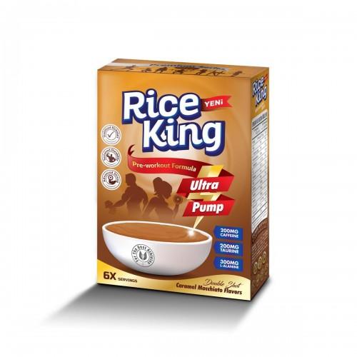 10x Rice King Karamel Makiyato Aromalı Pirinç 300 Gr