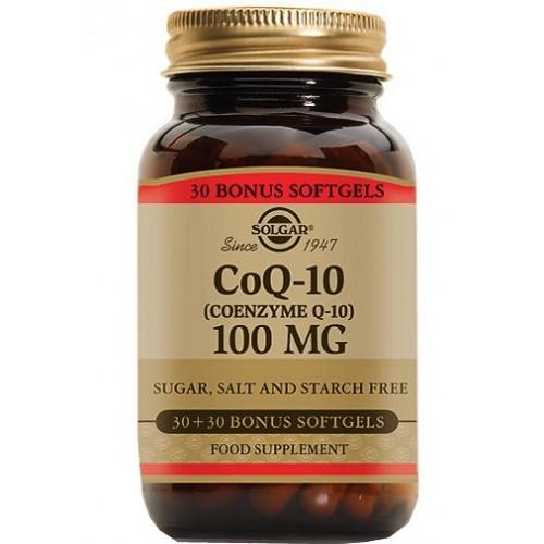 Solgar Coenzyme Q-10 100 mg 60 Tablet