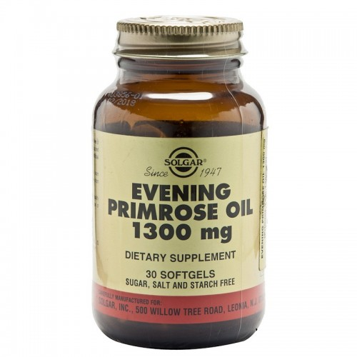 Solgar Evening Primrose Oil 1300 mg 30 Kapsül