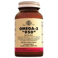 """Solgar Omega-3 """"950"""" 50 Tablet"""