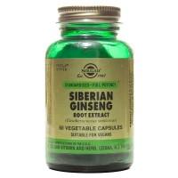Solgar Siberian Ginseng Root Extract 60 Kapsül