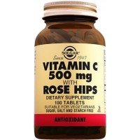 Solgar Vitamin C With Rose Hifs 100 Tablet