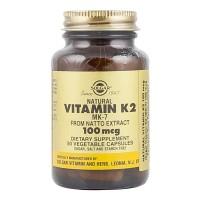 Solgar Vitamin K2 MK-7 From Natto Extract 100 mcg 50 Kapsul