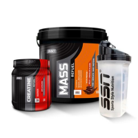 SSN Mass Refuel ® 5000 Gr + Creatine Refuel 350 Gr
