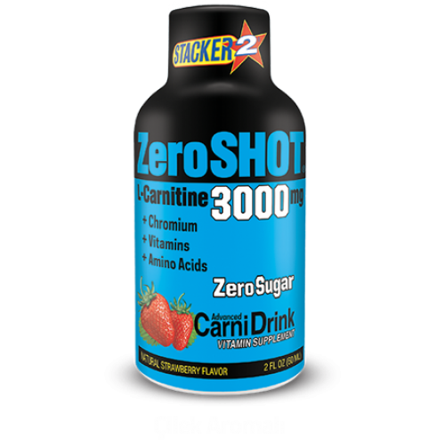 Stacker 2 Zero Shot 60 ML 3000Mg L-Carnitine