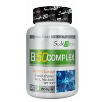 Suda Vitamin B 50 Complex 60 Kapsül