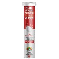 Sunlife Multivitamin Mineral + Ginseng Efervesan 20 Tablet
