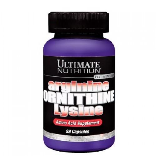 Ultimate Arginine Ornithine Lysine 750Mg 100 Kapsül