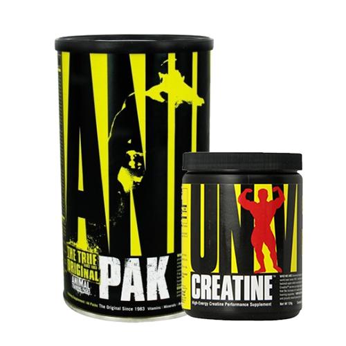 Universal Animal Pak 44 Paket + Creatine Powder 120 Gr Kombinasyonu