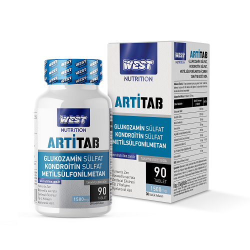 West Nutrition Artitab Glukozamin MSM 90 Tablet