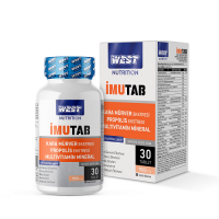 West Nutrition İmutab Multivitamin Mineral 30 Tablet