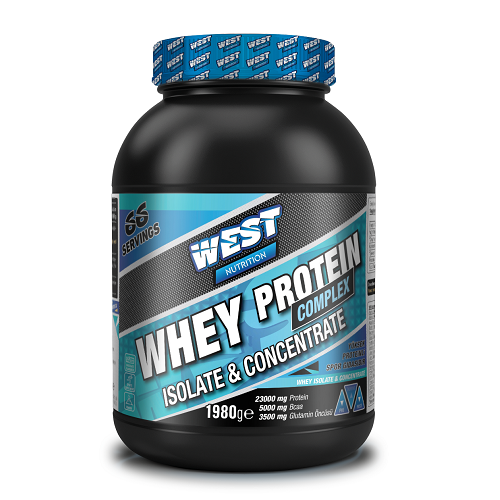 West Nutrition Isolate & Concentrate Whey Protein Complex 1980 Gr