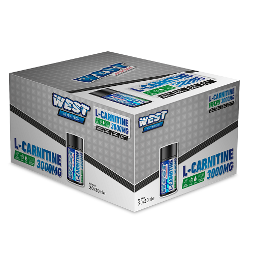 West Nutrition L-Carnitine 3000 Mg 20 Ampul