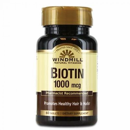 Windmill Biotin 1000 Mcg 60 Tablet