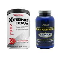 Scivation Xtend 384 gr + Mhp Glutamine-Sr 300 gr