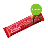 Züber Çilekli Ve Kakaolu Protein Bar 40 Gr 12 Adet