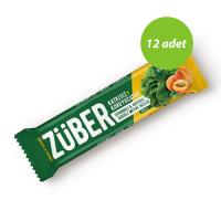 Züber Ispanaklı Ve Kayısılı Protein Bar 35 Gr 12 Adet